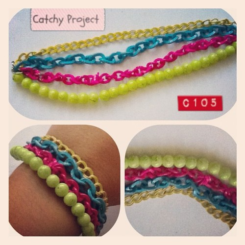 #catchyproject #chain #bracelet #fashion #fashionista #jual #jualan #sale  (Taken with instagram)