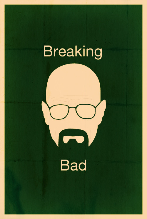 fuckyeahmovieposters:  Breaking Bad by Sam