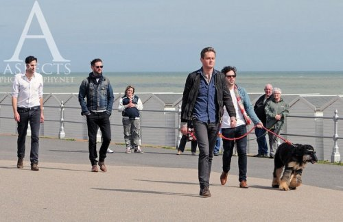 Keane filming at Bexhill