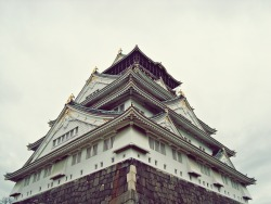 egyptbeforethirty:  Osaka Castle Osaka, Japan