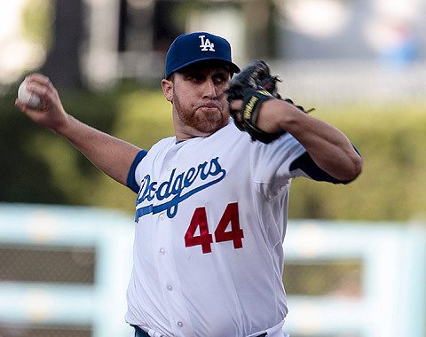 So glad The Dodgers got the win tonight.  Aaron Harang advances to 2-2.  Honestly, his record gives him no justice at all for how good he really has been so far.  I'm also glad to see the bench coming through, specifically Tony Gwynn Jr.  (my player of the game), who scored the game winning run tonight.  Go Dodgers!  [Did I mention, once again, we have the best record in baseball?  :D]