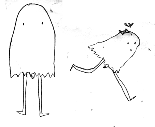 Here is Genital Ghost and His Girlfriend Miss Genital Ghost  hahahaha he has a peepee!
