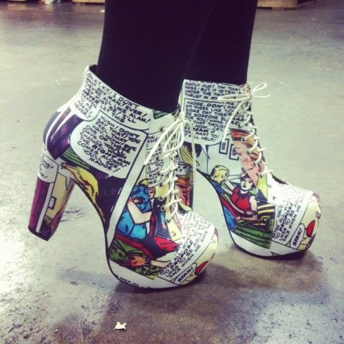 These Litas are a fun statement!