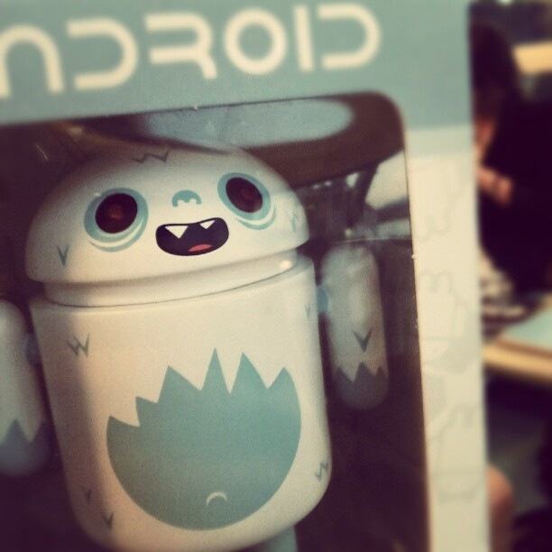 Abominal #android #toys  (Taken with instagram)