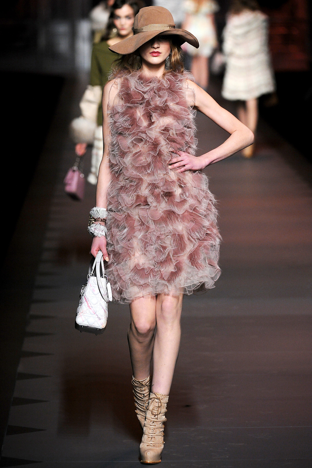aclockworkpink:  Christian Dior F/W 2011, Paris Fashion Week