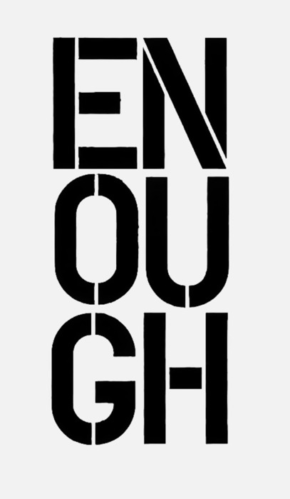 nevver:  Enough