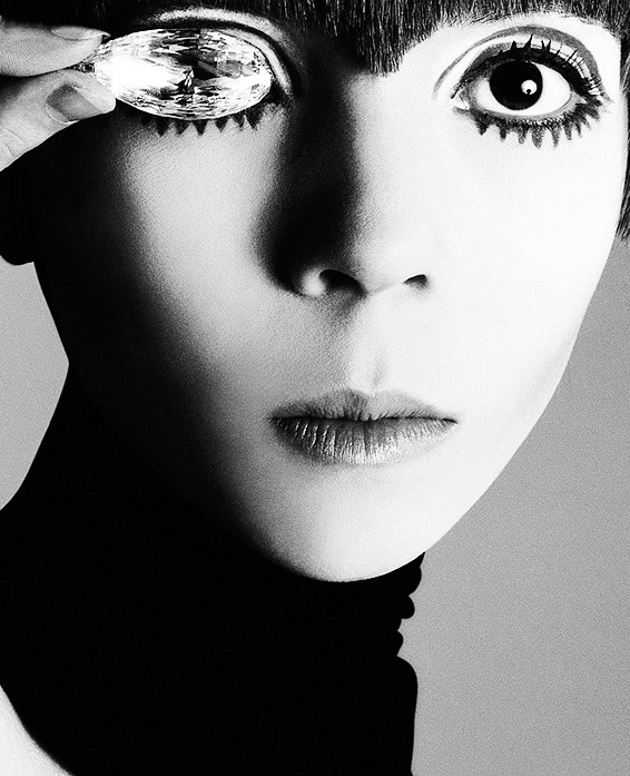Richard Avedon, photograph of Penelope Tree.