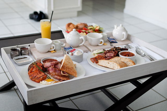 Breakfast in Bed by Zac3200 on Flickr.