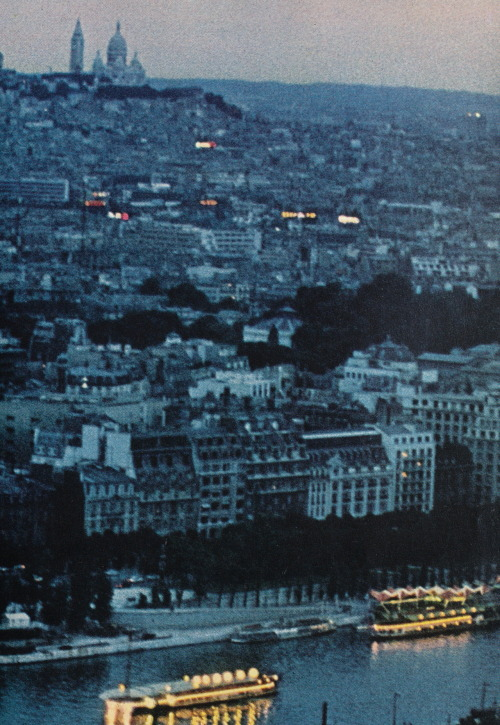 """The More Paris Changes…"" National Geographic, July 1972* photographer: Gordon W. Gahan Paris, France"
