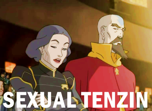 "spatsula:  GOD FUCKING DAMMIT  Victor: ""Tenzin doesn't sound anything *like* tyrannosaurus."" I love you victor."