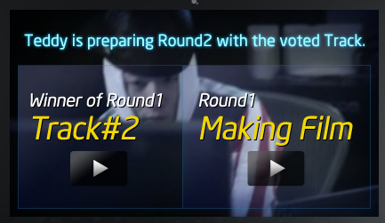 [INFO] Track 2 of 2NE1xINTEL Make Thumb Noise Project wins for Round 1! Teddy is currently preparing for the Round 2!