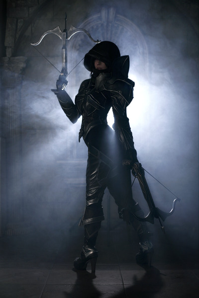 legarcondetoronto:  Demon Hunter Cos Play Diablo III