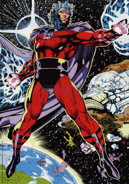 completeculture:  Magneto by Jim Lee.