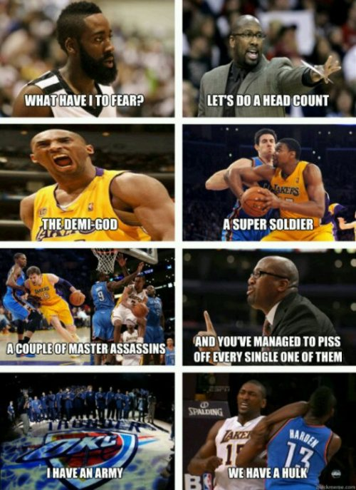 lakerznut:  Haaa. Team Laker gang tho