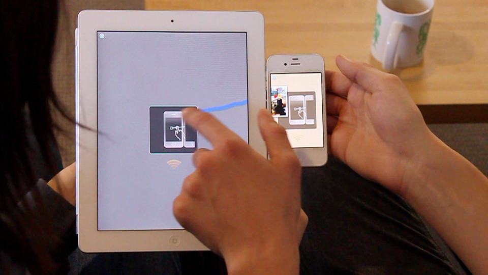 "It Exists! MIT Creates Tech For Moving Files Across Devices With A Swipe By Suzanne LaBarre, fastcodesign.com Swÿp—pronounced ""swipe""—lets users drag files from one device to another by swiping their finger. And it isn't just a cool idea. It's reality.Last week, we report­ed on a cool, if seem­ing­ly far-fetched, UI con­cept that'd let you drag files…"