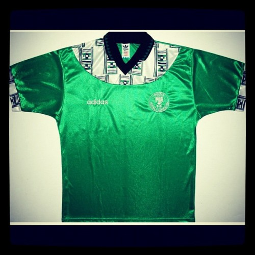 Nigeria (Adidas) 1994 In honour of Daniel Amokachi