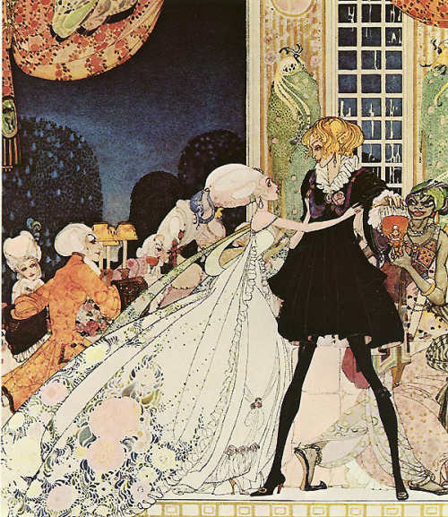 dyingofcute:  Kay Nielsen art print  Love this!
