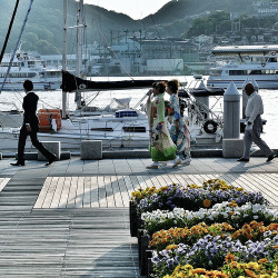 takara-mono:  Dejima Wharf : May 5 2012 (by cowboy_spike)