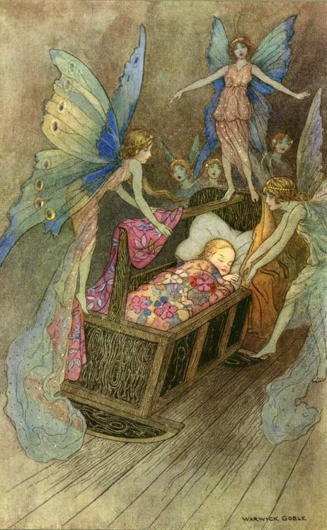 Warwick Goble art