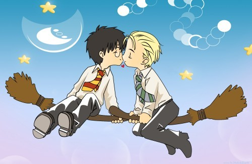 Adorable #Drarry #fanart.