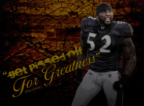 12/16/11 - Ray Lewis Quote