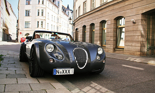 The perfect British roadster, made in Germany Starring: Wiesmann MF3 (by Frankenspotter Photography)