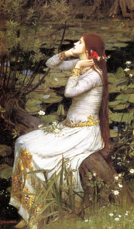 kazukij:  John William Waterhouse - Ophelia