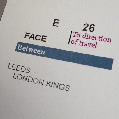 Almost there.. #leeds #london #kingscross #train #ticket #instagood #instagreat #jj_forums #instagramdaily #instafamous #igers #ipopyou  #iphonesia #webstagram #instagramers  #ahahahaCheah #igdaily #instagold #instamood #photooftheday #ignation #igaddict #primeshots #instagram_masters #instagram_underdogs  (Taken with instagram)
