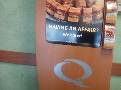 ireallylikegaryoldman:  You know what this adultery needs? SANDWICHES.  Food marketing strategists should REALLY rethink their wording on this…