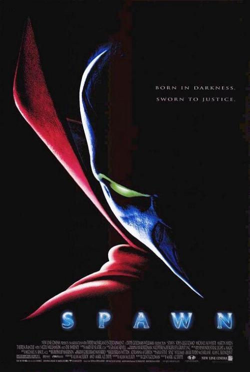 "xiaoliouciou:   1997 film SPAWN , all i can say is ""why dont people talk about this movie!!!"" the special effects are amazing , story is interesting , characters are very colorful , action is on point , GREAT movie here , 8.9/10"