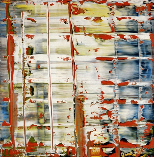 standingatadistance:  Abstract Painting, Gerhard Richter. 1992