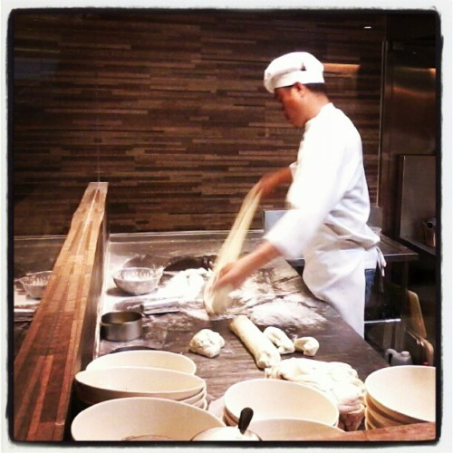Hand pulled noodles (Taken with instagram)