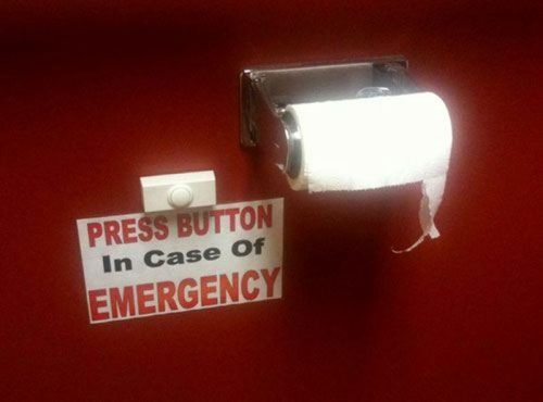 follow-haha-funny-lol:  Press Button in case of Emergency More