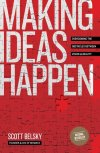 "Making Ideas Happen: Overcoming the Obstacles Between Vision and Reality Scott Belsky ★★★☆☆ Idea execution. As it is typical for someone who works in the creative industry, albeit not having the word creative in my title, I have notebooks and notebooks with ideas. Some are just a brief description, while others have long and elaborate plans supported with diagrams. And only about 0.001% of these ideas have been executed. I've realized that although the creation process starts with an idea, ideas don't always lead to creation. Mostly because once you start executing something another, supposedly more interesting and meaningful, idea is born. And that's the reason why I was excited to read this book. Although ""Making Ideas Happen"" is not the inspirational, flowery narrative full of great stories that get you to leave the book in the middle of the chapter and start working on your ideas, it is a good practical guide on how to make the execution of ideas a life-long skill, not just something you do when you get inspired by a book. According to Scott Belsky, the capacity to make ideas happen can be developed by anyone willing to develop his/her organizational, collaboration and leadership skills. Get organized  Being organized is the first step toward execution. Belsky suggests that you take a project-based approach to making ideas happen. Each major idea should be a project. Each project should have action steps (the things you currently need to do to move the idea forward), references (the information that feeds the idea but is not necessarily action oriented) and backburners (things for future consideration). Collaborate  The next major piece of making ideas happen is collaboration. Belsky argues that all good ideas need a team to execute them. The benefits of collaboration go far beyond someone helping you with the execution of elements beyond your expertise and focus on collaboration in the ideation process: vetting ideas, growing ideas, getting feedback, killing bad ideas quickly, etc. 