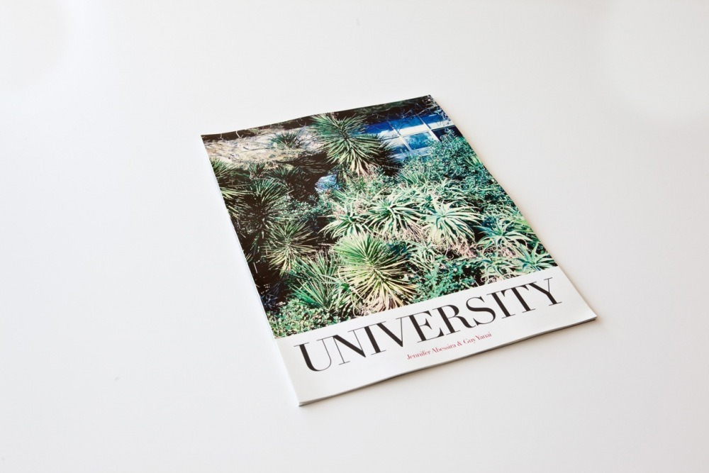 Still Shots from UNIVERSITY by Jennifer Abessira & Guy Yanai produced by Possibility of a Book, photos by Assaf Evron