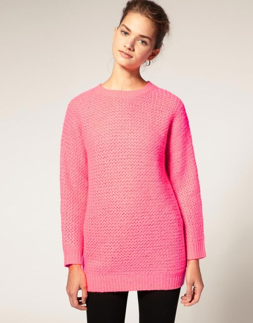 ASOS Bright Oversized JumperMore photos & another fashion brands: bit.ly/JgPXRU