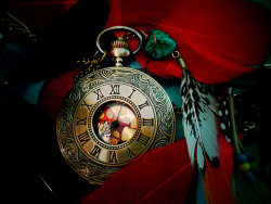 Tick Tock: Take your feathers and fly by ~redcatmoonlight