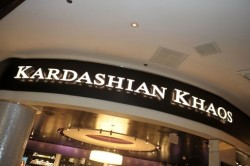 Kardashian Khaos - Mirage Las Vegas I know its been open a while but this store still excites me! Has anyone been lucky enough to visit? if so what did you think?I have read mixed reviews regarding the merchandise, with the majority of guests saying everything is so over price!I say… . 'Come on guys…this is the Kardashians were talking about here, their not going to have a cheap ass store selling dollar items!!Plus the stores in Las Vegas so it would be rude not to go a little crazy and treat yourself'  #Keep-It-Kardashian