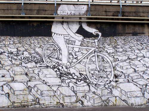i love BLU! if you like street art, or you like this, then check out his videos on youtube. they're great!