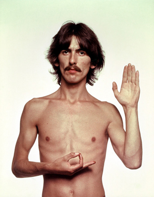 George Harrison by Richard Avedon