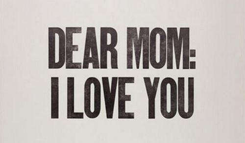 happy mother's day mommy dearest :)