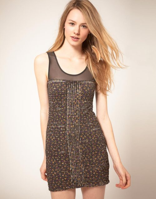 Free People Floral DressMore photos & another fashion brands: bit.ly/JgPhMi