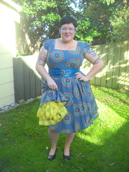 My love of petticoats is featured on Pinup Persuasion, a great blog dedicated to retro reproduction clothing and accessories. Check it out here, if you're interested!