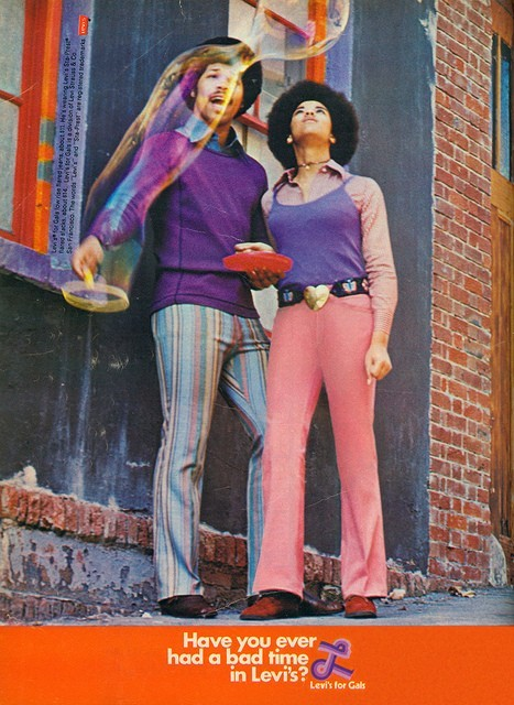 ~ Levi's, 1971via Flickr