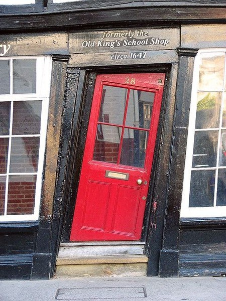 wasbella102:  Old King's School Shop, Canterbury, England (1647 AD)