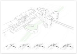 Overview of Maryport Cookery School, showing diagrams of ten-year phasing strategy
