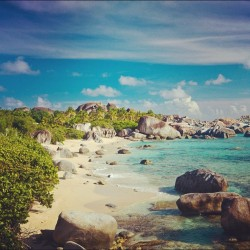 #picoftheday #caribbean #summer #virgingorda #beach  (Taken with instagram)
