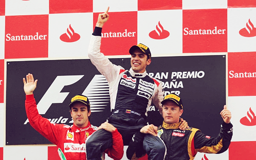 A great podium!