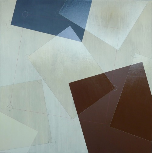 glovaskicom:  Mechanism #7, acrylic on canvas, 48x48, Glovaski  2012