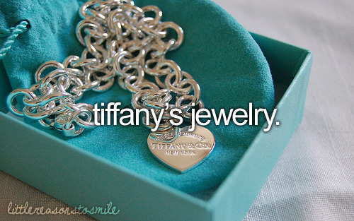 IDontDoNice:   I want that blue box. I want Tiffanys. So sue me.